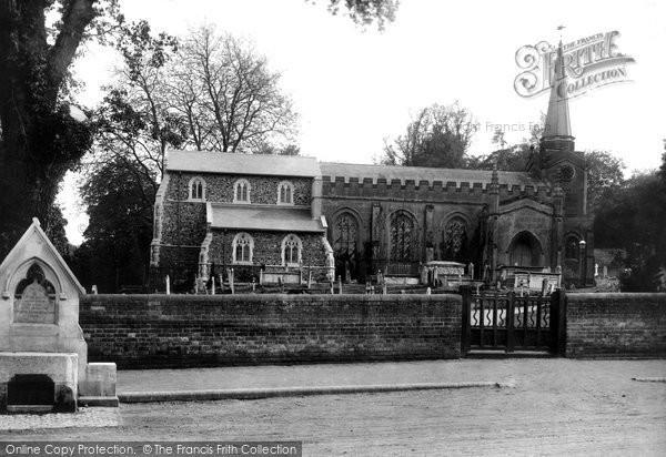 Photo of Colchester, Lexden Church 1895