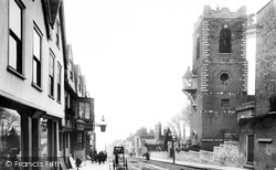 Colchester, North Hill 1891