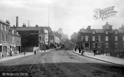 Colchester, North Hill And The Market 1892