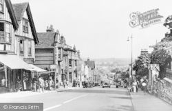 Colchester, North Hill c.1955