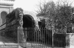Colchester, Old Roman Wall 1892