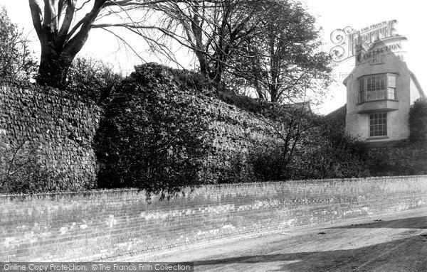 Photo of Colchester, Old Roman Wall 1892