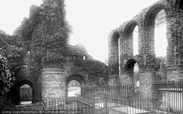 Photo of Colchester, St Boltoph's Priory 1891, ref. 28214