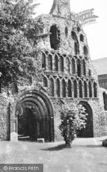 Colchester, St Botolph's Priory c.1955
