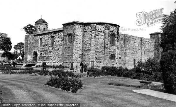 Photo of Colchester, the Castle and Grounds c1960