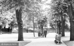 Colchester, The Castle Grounds c.1960