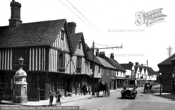 Photo of Colchester, The Old Siege House 1921