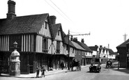 Colchester, the Old Siege House 1921