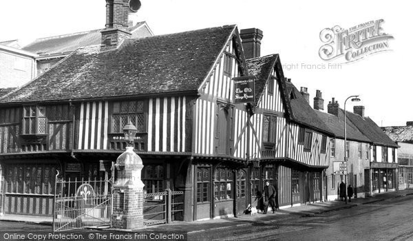 Photo of Colchester, The Old Siege House c.1955