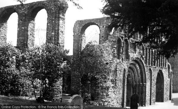 Colchester, The Priory c1960.  (Neg. C136035)   Copyright The Francis Frith Collection 2007. http://www.francisfrith.com