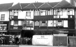 Colchester, The Red Lion Hotel c.1960