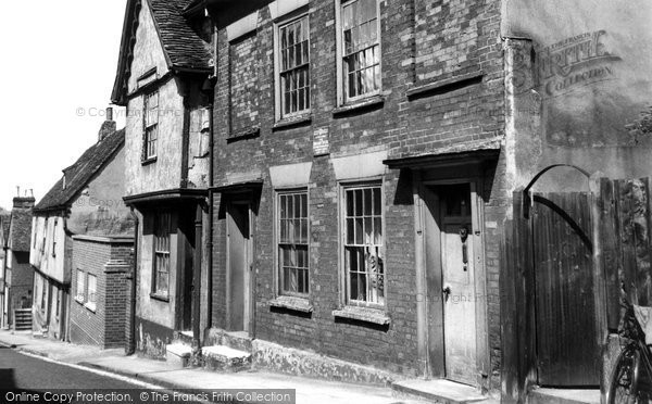 Photo of Colchester, The Residence Of Jane And Ann Taylor c.1960