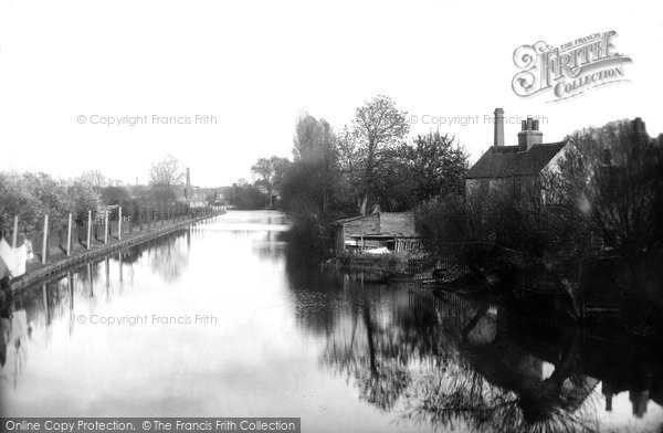 Photo of Colchester, View Form North Bridge 1892