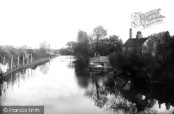 Colchester, View Form North Bridge 1892