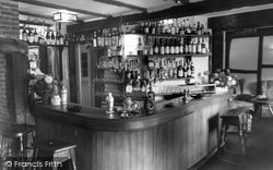 The Lounge Bar, The Plough Inn c.1960, Coldharbour