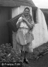 Coldingham, A Scottish Fish Wife c1932