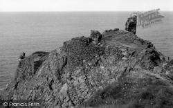 Coldingham, Fast Castle 1961
