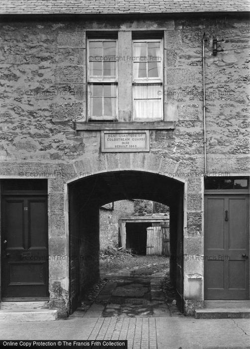 Coldstream, Coldstream Guards Headquarters c.1950