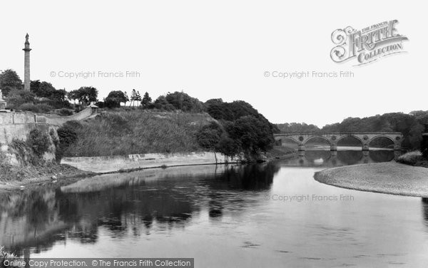 Photo of Coldstream, the Border Bridge c1950, ref. C359003