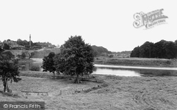 Coldstream, The Monument And Tweed Bridge c.1950