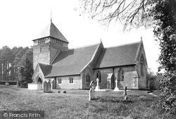 Coldwaltham, Church Of St Giles 1914