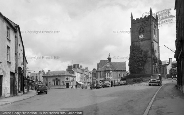 Coleford, Church Tower and Memorial c1963
