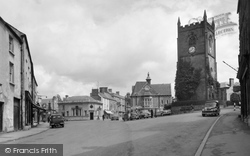 Coleford, Church Tower And Memorial c.1963