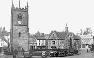 Coleford, Church Tower and Memorial c1950