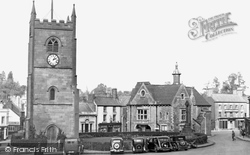 Coleford, Clock Tower And Memorial c.1950