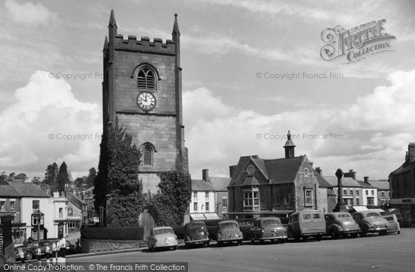 Coleford, Clock Tower and Memorial c1963