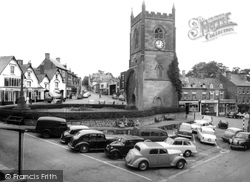 Coleford, Clock Tower, High Street And The Tump c.1960