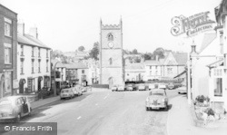Coleford, Market Place c.1960