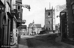 Coleford, Market Place From Newland Street c.1950