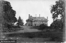 Coleford, Speech House 1893