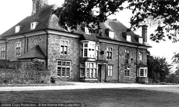 Coleford, the Speech House c1955