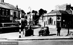 Coleford, Town Centre 1950