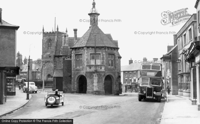 Coleford, Town Hall c1950