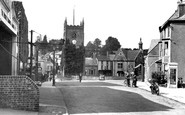 Coleford, view from Transport Square c1955