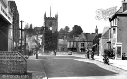 Coleford, View From Transport Square c.1950