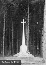 Colehill, the War Memorial 1923
