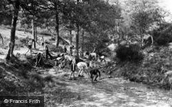 Colemans Hatch, Bridging And Damming, Wren's Warren Camp c.1955