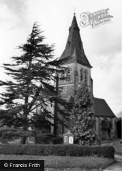 Colemans Hatch, Church Of The Holy Trinity c.1965