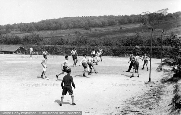Colemans Hatch, Football, Wren's Warren Camp c.1955