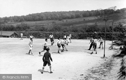 Colemans Hatch, Football, Wren's Warren Camp c.1955