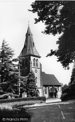Colemans Hatch, Holy Trinity Church c.1965