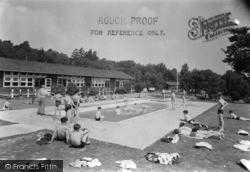 Colemans Hatch, Swimming Pool, Wren's Warren Camp c.1955