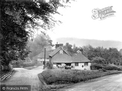 Colemans Hatch, The Forge And Hatch Inn 1927