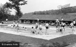The Swimming Pool, Wren's Warren Camp c.1955, Colemans Hatch