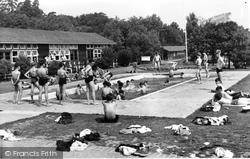 Colemans Hatch, The Swimming Pool, Wren's Warren Camp c.1955
