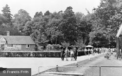 Colemans Hatch, Wren's Warren Camp c.1955